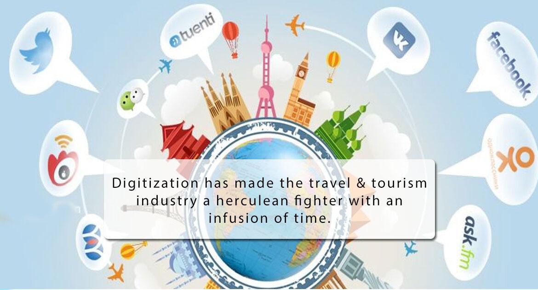 Imapct of digital marketing in tourism industry